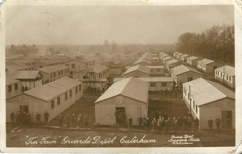 Guards Depot Caterham Guards Depot Caterham June Sept 1958