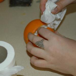 Mummify an orange!