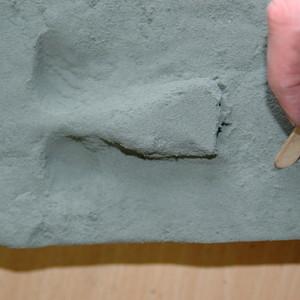 Carve your own (mock) rock art!