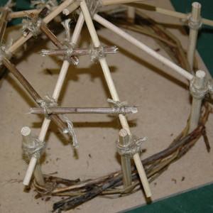 Build a mini-roundhouse!