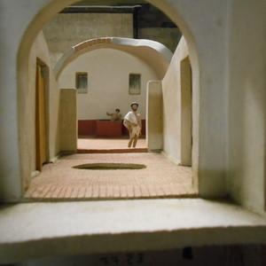 <div class='photo-title'></div><div class='photo-desc'>The model bathhouse, complete with a model Roman</div>