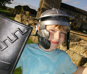 <div class='photo-title'>Fun at Birdoswald Roman fort!</div>