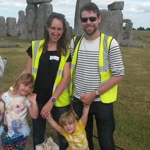 Team Ingason at Stonehenge!