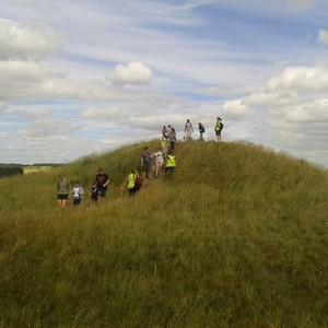 Barrow spotting at Stonehenge