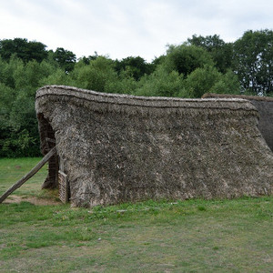 Examining an Anglo-Saxon building