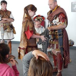 Dressing as a Roman