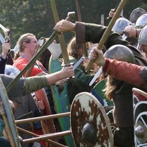 <div class='photo-title'>Vikings clash! </div><div class='photo-desc'>© The Vikings</div>