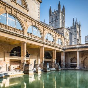 <div class='photo-title'>Roman Baths</div><div class='photo-desc'>Step where Romans stepped at the world-famous Roman Baths in Bath!</div>