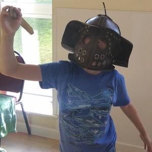 <div class='photo-title'>A Roman gladiator</div><div class='photo-desc'></div>