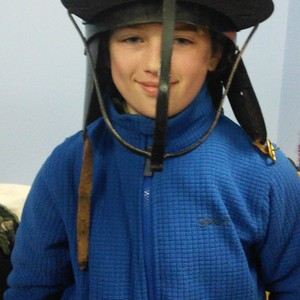 <div class='photo-title'>Looking good in a Stuart helmet</div><div class='photo-desc'></div>