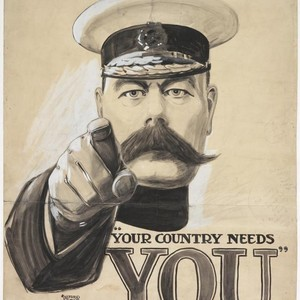 <div class='photo-title'>The famous Kitchener recruitment poster</div><div class='photo-desc'>© IWM (Art.IWM PST 2735)</div>