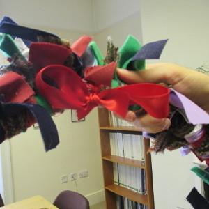 Christmas Raggy Wreaths