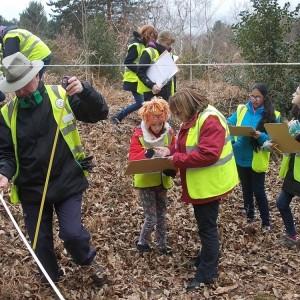 <div class='photo-title'>Recording the ancient ditch in Joyden's Wood</div><div class='photo-desc'></div>