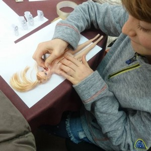 Mummifying Barbie at St Albans YAC