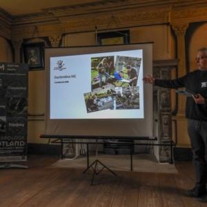 <div class='photo-title'>Mark talking about our Dunfermline Abbey graveyard project</div><div class='photo-desc'></div>
