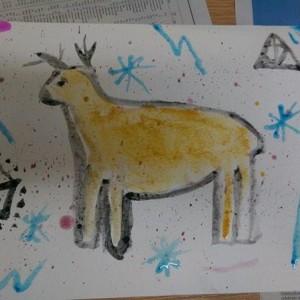 Palaeolithic art adventures with York YAC
