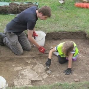 <div class='photo-title'>Carefully excavating the remains of a Tudor building</div><div class='photo-desc'></div>