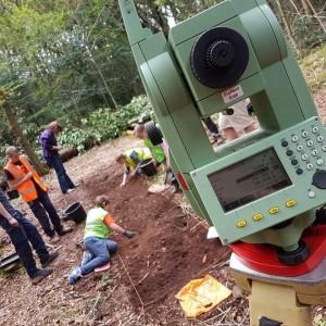 <div class='photo-title'>Worcestershire YAC's Second World War dig</div><div class='photo-desc'>Survey equipment on site</div>