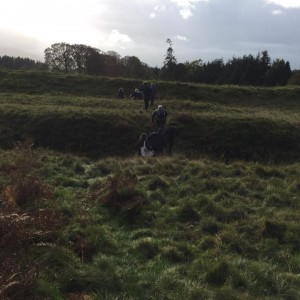 Stirlingshire YAC explore Ardloch Roman Fort